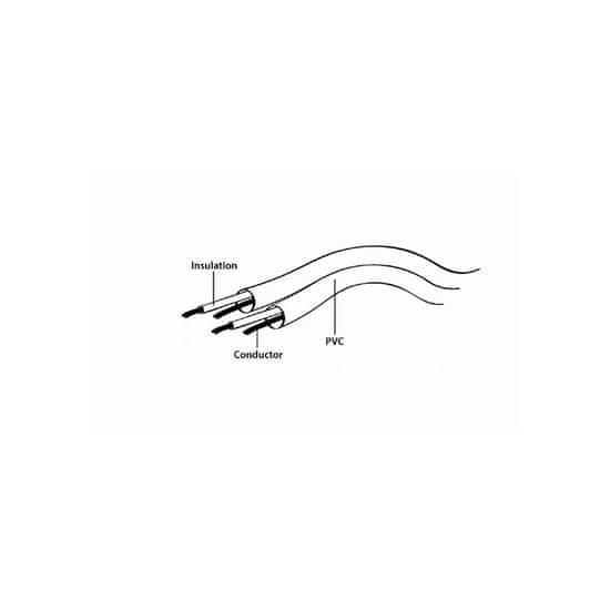 CABLEXPERT Avdio kabel 1x 3.5mm M - 2x 3.5mm Ž 5m