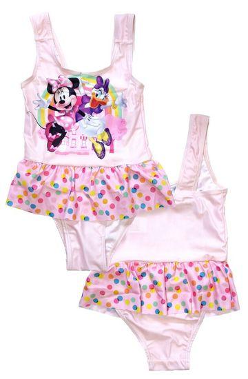 """SETINO Lány lány fürdőruha """"Minnie egér"""" - világos rózsaszín"""