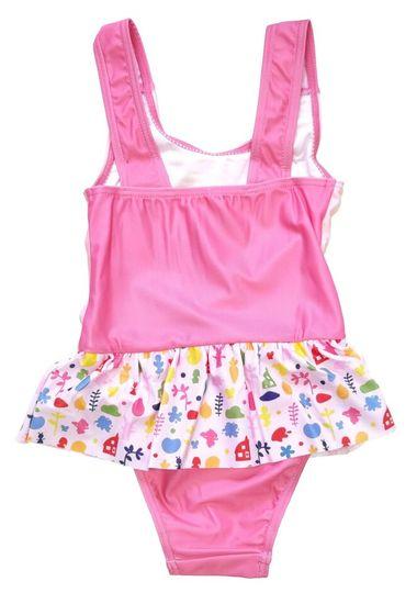 """SETINO Dívčí jednodílné plavky """"Bing"""" - světle růžová"""