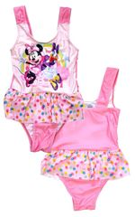 """SETINO Dekliške enodelne kopalke """"Minnie Mouse"""" - temno roza - 122 / 6–7 let"""