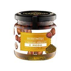 HoneyMix Lieskové orechy v mede 250 g