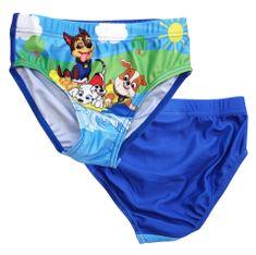 "SETINO Fantovske plavalne hlače ""Tačke na patrulji"" - temno modra - 128 / 7–8 let"