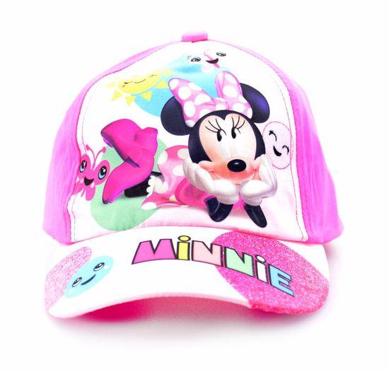 "SETINO Dekliška kapa s šiltom ""Minnie Mouse"" - roza"