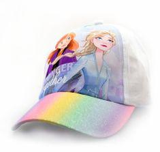 "SETINO Dekliška kapa s šiltom ""Frozen 2"" - bela - 52 cm"