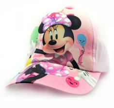 """SETINO Lány baseball sapka BABY """"Minnie egér"""" - világos rózsaszín - 50 cm"""