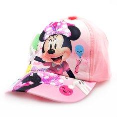 """SETINO Lány baseball sapka BABY """"Minnie egér"""" - rózsaszín - 50 cm"""
