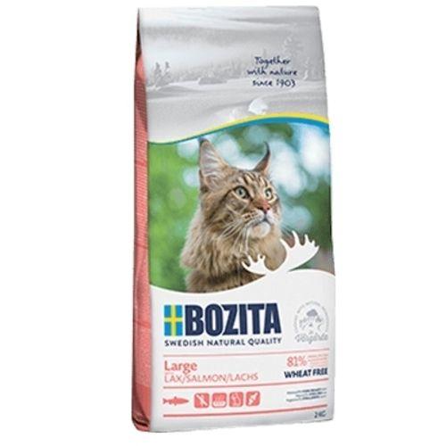 Bozita Feline Large Wheat Free Salmon 2kg NEW