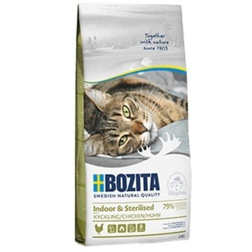 Bozita Feline Indoor & Sterilised Chicken 10kg NEW