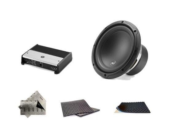 Audio-system SET - kompletní ozvučení do Bentley Bentayga - UPGRADE 1