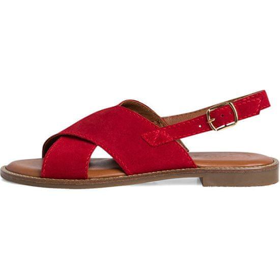 Tamaris Skórzane sandały 1-1-28119-26