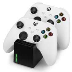 Snakebyte polnilna postaja XBox Series Twin:Charge SX, črna
