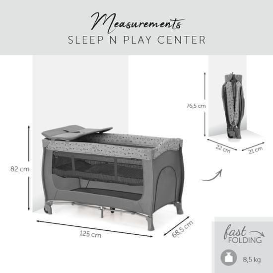 Hauck potovalna posteljica Sleep'n Play Center 2021