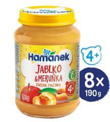 Hamánek Meruňka jablko 8x 190g