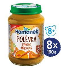 Hamánek Polievka Tekvicovo-mrkvová 8x 190g