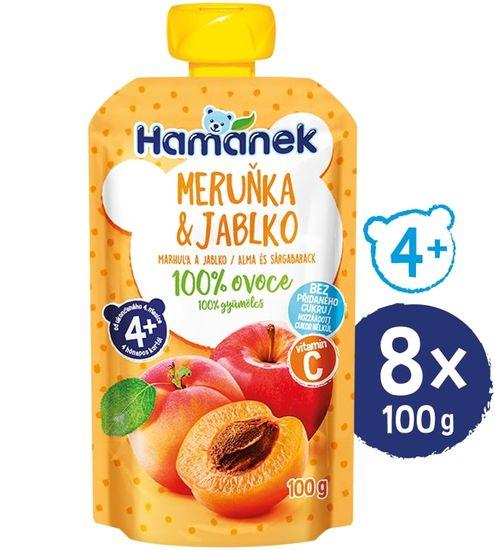 Hamánek  Meruňka 8x 100g