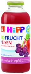 HiPP BIO Šťáva z červených plodů ovoce se železem od 6. měsíce, 6 x 500 ml