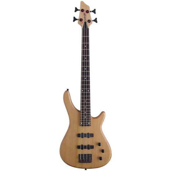 Stagg BC300 3/4 NS, elektrická baskytara 3/4, přírodní