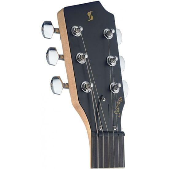 Stagg SVY CST BK, elektrická gitara, čierna