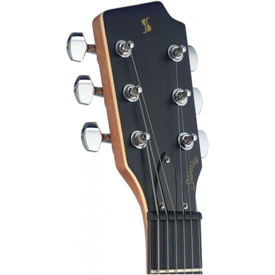 Stagg SVY SPCL BK, elektrická gitara, čierna