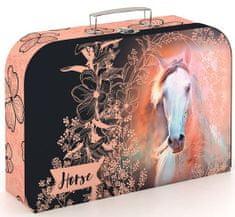Karton P+P Kufřík lamino Kůň romantic