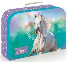 Karton P+P Laminált bőrönd, 34 cm, Ló