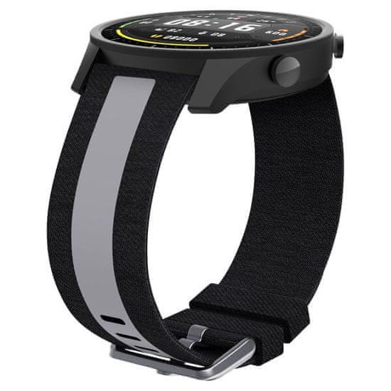 EPICO Canvas Strap pašček za Xiaomi Mi Watch, črn