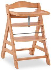 Hauck krzesełko dla dzieci Alpha Move 2021 drewniane