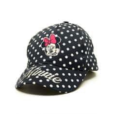 """Eplusm Dziewczęca czapka z daszkiem """"Myszka Minnie"""" - niebieski - 54 cm"""