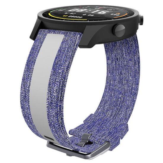 EPICO Canvas Strap remen za pametni sat Xiaomi Mi Watch, plavi