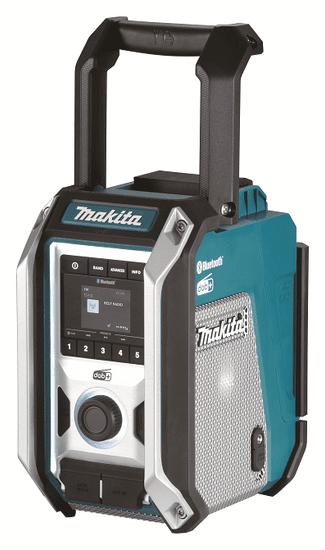 Makita DMR115 aku rádio DAB, Bluetooth, USB Li-ion, bez aku