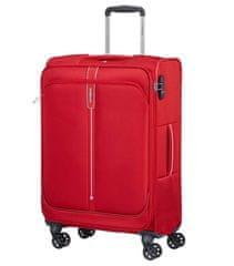Samsonite Pop Soda potovalni kovček, 68 l, rdeč