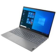 Lenovo ThinkBook 15 G2 prenosnik, i5-1135G7, 8/256, FHD, W10Pro, siv (20VE-0004SC)