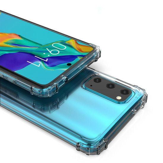 MG Anti Shock Military szilikon tok Samsung Galaxy A41, átlátszó