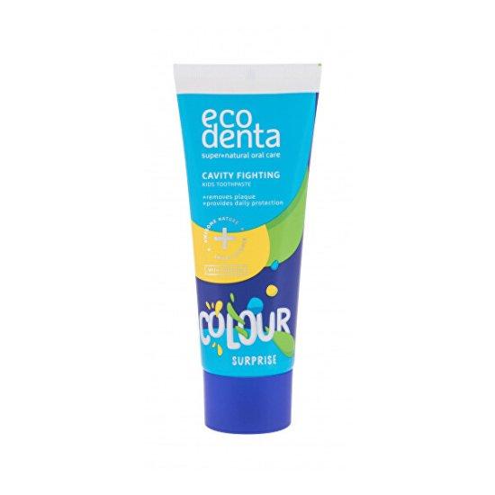 Ecodenta Kolorowa pasta do zębów dla dzieci Cavity Fighting ( Kids Toothpaste) 75 ml