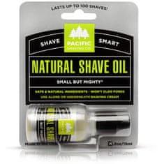 Pacific Shaving Męskanaturalny olejek do golenia Natura l (Shave Oil) olejek do golenia) 15 ml