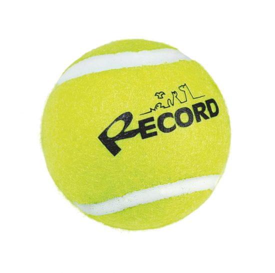 RECORD Fun teniška žogica za pse, guma/filc, 6,4 cm