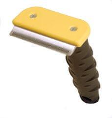 RECORD trimer za odstranjevanje odmrle dlake, L, 7,5 cm