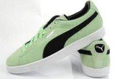 Puma Čevlji Suede Classic + Patina Green-Black 40,5