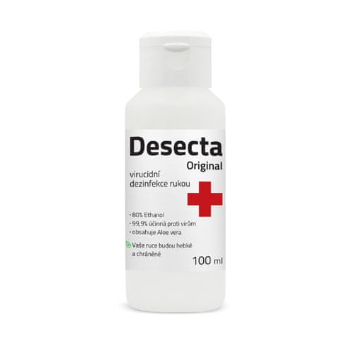 Desecta Dezinfekčný virucidný roztok (anti-covid) 100ml