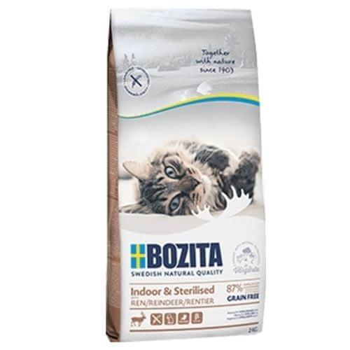Bozita Feline Indoor & Sterilised GF Reindeer 10kg