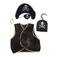 funny fashion Sada doplňků kostým pirát