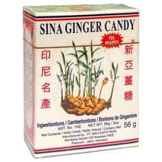 GINGE BON AGEL COMP. Bonbóny zázvorové Sina Ginger Candy 56g