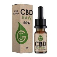 CBD Group RAW CBD konopný olej 20% Fullspectrum 10 ml