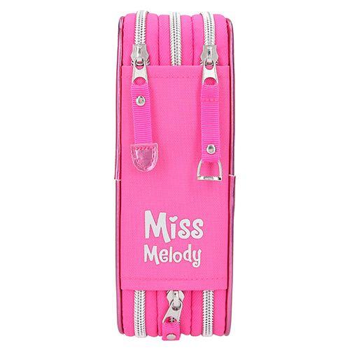 Miss Melody Ceruzatartó, 3 emelet felszereléssel, Rózsaszín, virágzó cseresznye