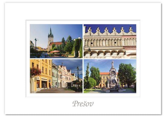 tvorme pohľadnica Prešov I