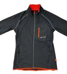 MAYA MAYA Moška športna jopica pulover na zadrgo - Ogen, za pohodništvo, tek, Polarbear tehnologija, S