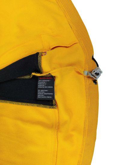 MAYA MAYA Ženski pulover jopica softshell - Tribe, Polarbear tech, rumen