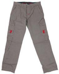 MAYA MAYA Moške cargo hlače Tukano - pohodne, treking, delovne - sive, S