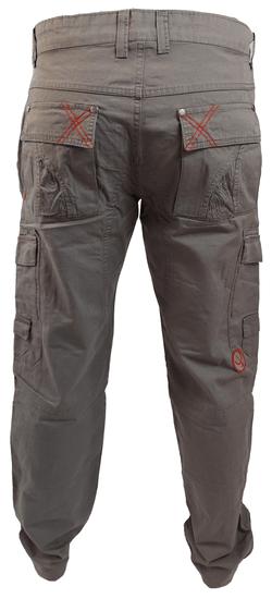 MAYA MAYA Moške hlače za prosti čas Lampedo - pohodne, treking, delovne - sive