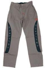 MAYA MAYA Moške cargo hlače Lampedo - pohodne, treking, delovne - sive, S